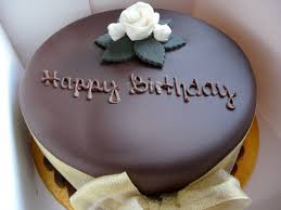Happy Birthday Chocolate Cake Wallpaper For Android Wallpaper