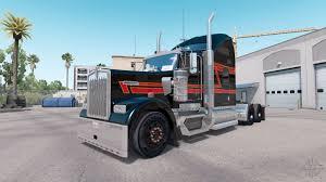 100 Big Black Trucks Skin On The Truck Kenworth W900 For American Truck Simulator