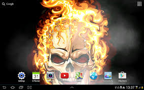 Halloween Live Wallpapers For Pc by Skulls Live Wallpaper Android Apps On Google Play