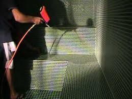 anti slip coating application on ceramic tile