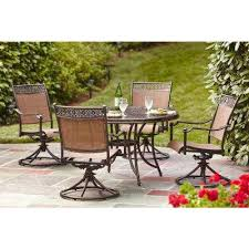Slingback Patio Chairs That Rock by Hampton Bay Patio Furniture Outdoors The Home Depot