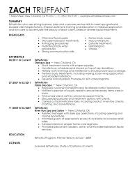 Communication Resume Effective Skills Samples