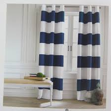 Blue Vertical Striped Curtains by Curtain Blue And Whiteiped Curtains Navy 96blue 108blue