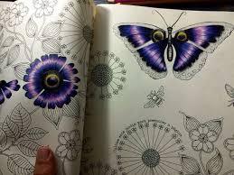 Big Flowers Double Page Secret Garden Flores Grandes Pagina Dupla Jardim Secreto Johanna Basford Coloring BooksAdult