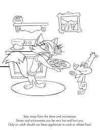 Teach Your Children Kitchen Safety When They Want To Help With The Holiday Cooking Coloring PagesSafetyCooking