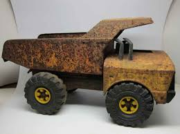 Rusty Old Tonka Dump Truck | Olde Good Things