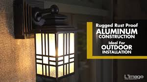 home luminaire mission outdoor wall lantern with gfci outlet