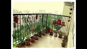 Indian Apartment Garden Balcony Decoration Ideas