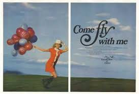 United Airlines Stewardess Come Fly With Me 2 P 1969