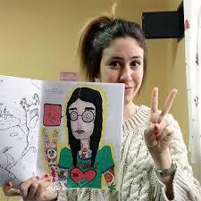 Coloring Book Interview Series 11 Ana Sebastian