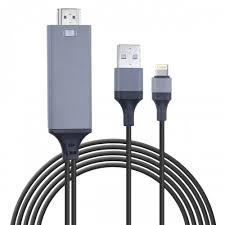 Lightning to HDMI iPhone to HDMI Cable Digital AV Adapter 6 6FT