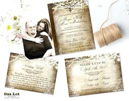 Wedding Invites Rustic Invitation Templates Uk