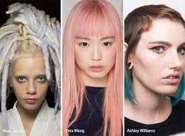 Spring Summer 2017 Hair Color Trends Pastel