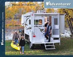2011 ALP Adventurer Truck Campers Brochure | RV Brochures Download Adventurer Truck Camper Model 86sbs 50th Anniversary 901sb Find More For Sale At Up To 90 Off Eagle Cap Campers Super Store Access Rv 2006 Northstar Tc650 7300 Located In Hernando Beach 80rb Search Results Used Guaranty Hd Video View 90fws Youtube For Sale Canada Dealers Dealerships Parts Accsories 2018 89rbs Northern Lite Truck Camper Sales Manufacturing And Usa