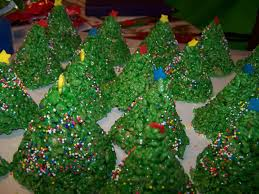 Rice Krispie Christmas Tree Ornaments by Rice Krispie Treats Jo U0027s Delights