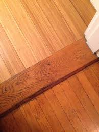 Types Of Transition Strips For Laminate Flooring by Transition Between Old Wood Floors And New Vered Rosen Design