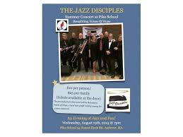 The Jazz Disciples Summer Concert To Benefit Voices Of Hope