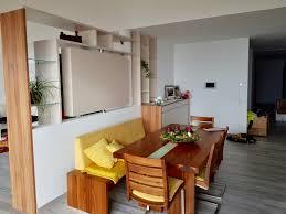 raumteiler mit drehbarer tv säule grafenstein dan küchen