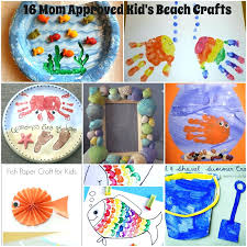 Summer Craft Kids Beach Crafts For Preschoolers Mom Approved On
