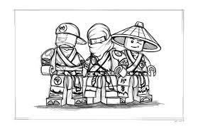 Easy Ninjago Coloring Pages New Lego Free Printable Pictures Of