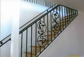 Metal Stair Handrail : Wrought Iron Handrail Components – Laluz ... Attractive Staircase Railing Design Home By Larizza 47 Stair Ideas Decoholic Round Wood Designs Articles With Metal Kits Tag Handrail Nice Architecture Inspiring Handrails Best 25 Modern Stair Railing Ideas On Pinterest 30 For Interiors Stairs Beautiful Banister Remodel Loft Marvellous Spindles 1000 About Stainless Steel Staircase Handrail Design In Kerala 5 Designrulz