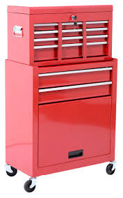 Amazon.com: HomCom Rolling Tool Cabinet With 6 Drawer And Removable ...