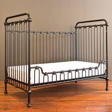 Bratt Decor Joy Crib Black by Joy Baby Crib Distressed Black