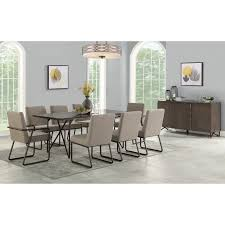Shadow Dining Room Group By Flexsteel At Crowley Furniture & Mattress Kings Brand Fniture 3 Piece Bronze Metal Square Ding Kitchen Dinette Set Table 2 Chairs Elixir 80in Rectangular With Base By Hooker At Dunk Bright Costway 5 4 Wood Breakfast Chic Gray Room With Rustic And Vintage Louis Pair Of Silver Velvet Mirrored Legs Vida Living Tempo Glass C1860p Industrial Round Lifestyle Sam Levitz Fixer Upper A Contemporary Update For A Family Sized House Hot Item Cheap Leg Chair Vecelo Sets Pcs Embossed White Montello 3piece Old Steel