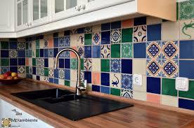 marokkanische fliesen für das feriengefühl in ihrer küche