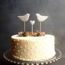 Driftwood Wedding Cake Topper Beach With Love