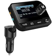 blufree aktualisiert im auto dab dab adapter für autoradio dab digitalradios mit fm dab transmitter bluetooth 4 2 64g tf karte aux out usb kfz