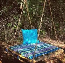 Wooden Garden Swing Seat Plans by Best 25 Pallet Swing Beds Ideas On Pinterest Pallet Swings