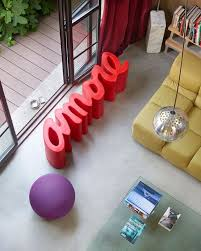 slide design bench sitzbank schriftzug mit farbauswahl