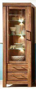 gent vitrine vitrinenschrank wohnzimmer standvitrinen schrank akazie dunkel günstig möbel küchen büromöbel kaufen froschkönig24