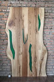 abverkauf epoxy one schiebetür aus eichenholz mit