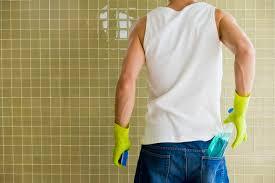 how to get calcium deposits shower tile hunker