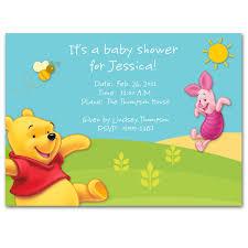 Disney Baby Winnie The Pooh by Winnie The Pooh Baby Shower Invites Cloveranddot Com