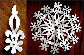 Wonderful DIY Paper Snowflakes With Pattern