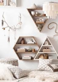 Making A Wooden Shelving Unit by Best 25 Geometric Shelves Ideas On Pinterest Wall Shelf Decor