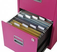 2 drawer locking a4 filing cabinet pfa2 fuschia pink