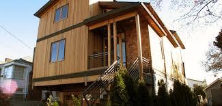 104 Contemporary Cedar Siding Lee Edwards Residential Design Warm Modern Home In Seattle