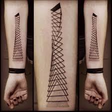 Abstract Geometric Tattoo 1
