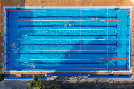 Swimming Pool Top View Flat Pictogram Csp34225275 Olympic Size Dimensions Image Gallery