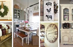 Farmhouse Dining Room Walls Modern Interior Design Medium Size Best And Decor Ideas Country Rooms