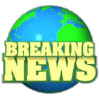 Breaking News Photo Earth With Text Hg 1