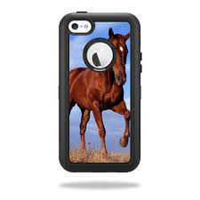 Horse Skin for OtterBox Defender iPhone 5C Case