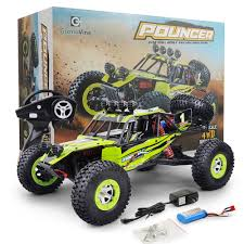 12428 Monster Trucks RC Car 1/12 2.4G Rock Crawler 4WD Off Road ...