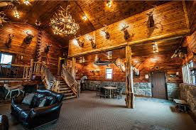 Coshocton Crest Lodge Amenities & Features Log Cabin Rental near