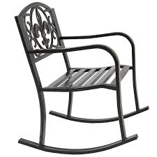 Metal Rocking Chair Seat For Outdoor - Black/Bronze ... Best Rocking Chair In 20 Technobuffalo Row Chairs On Porch Stock Photo Edit Now 174203414 Swivel Glider Rocker Outdoor Patio Fniture Traditional Green Design For Your Vintage Metal Titan Al Aire Libre De Metal Banco Silla Mecedora Porche Two Toddler Recommend Titan Antique White Choice Products Indoor Wooden On License Download Or Print For Mainstays Jefferson Wrought Iron Walmartcom