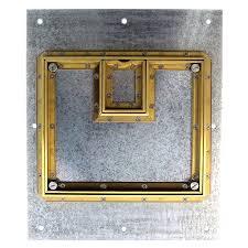 Fsr Floor Boxes Fl 600p by Fsr Fl 500p B 22ja Floor Box Cover Beveled Brass Flange Lift Off